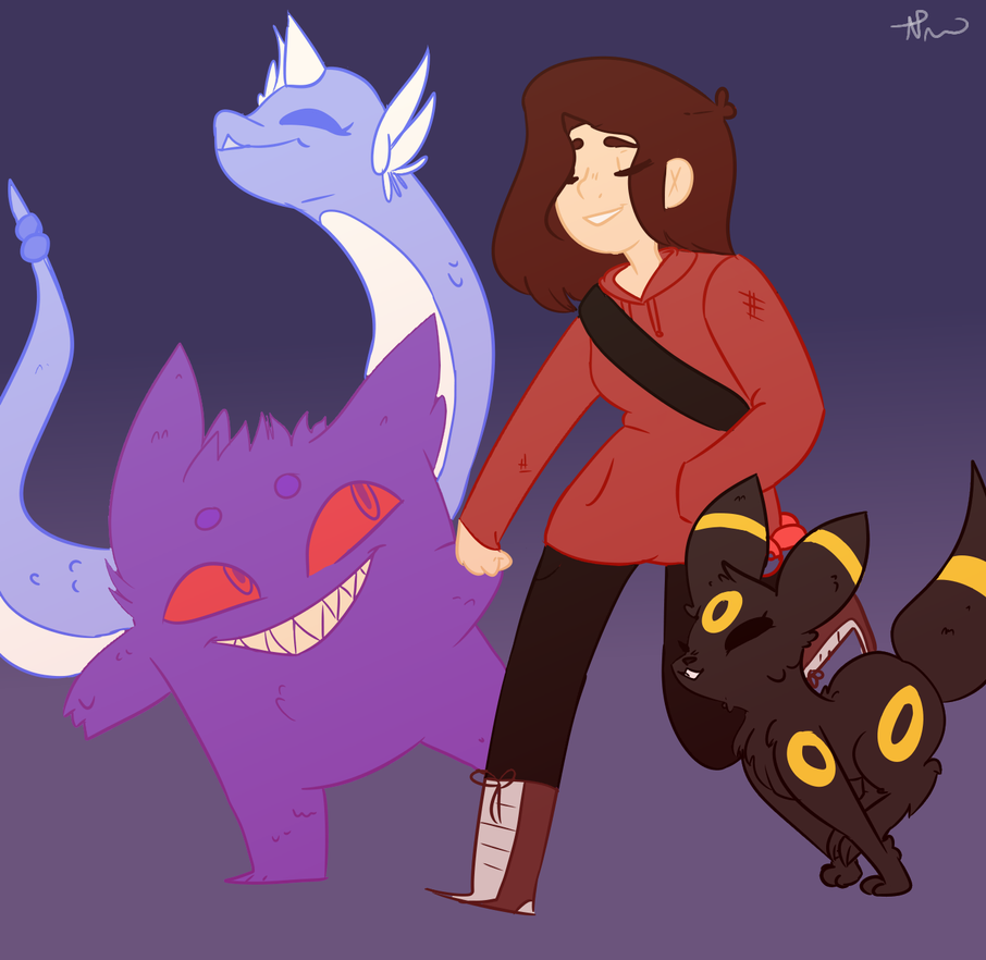 Pokemon Trainer Reyanne by PurpleFox221