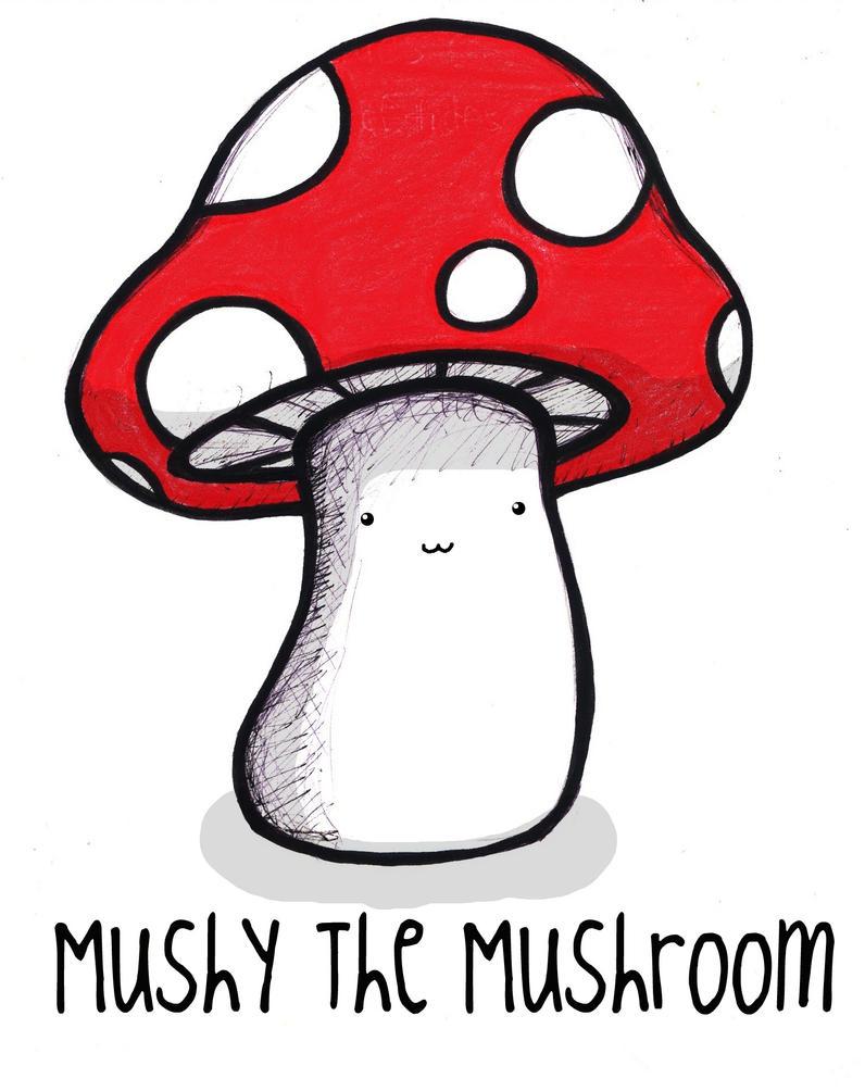 cartoon mushroom pictures