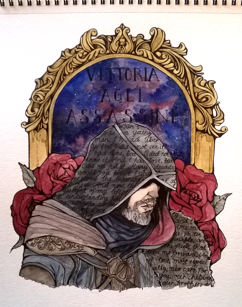 Ezio Auditore by partymursu