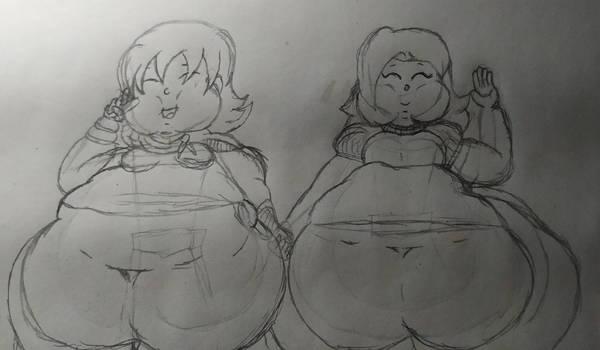 Gift - Fatty Knight With Fatty Princess