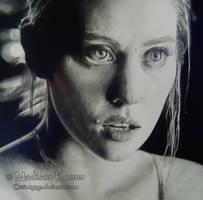 Jessica Hamby by ArtZomb