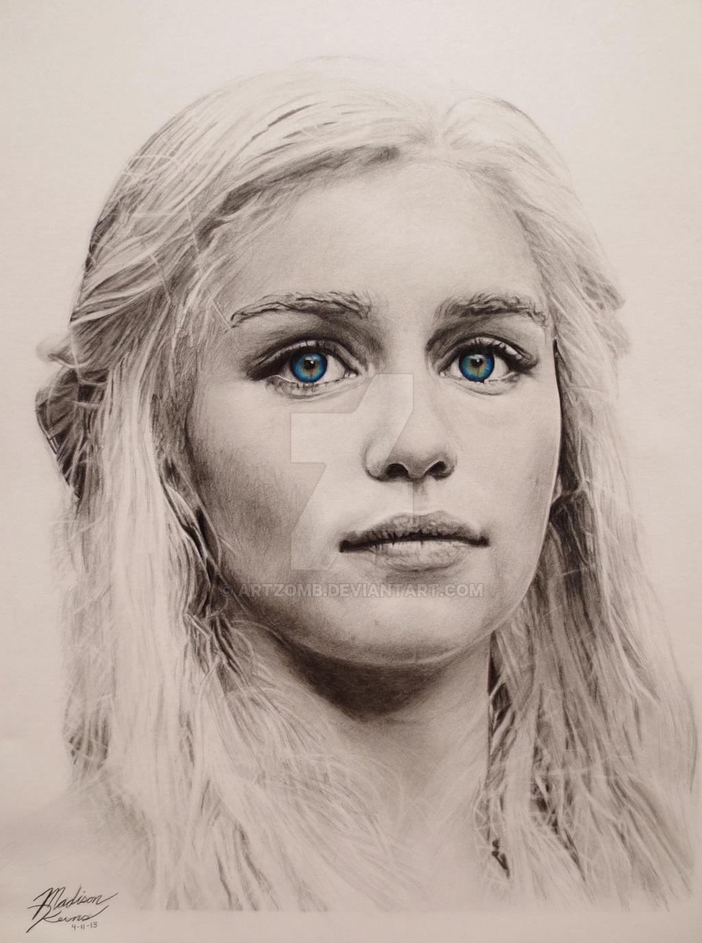 Daenerys Targaryen by ArtZomb
