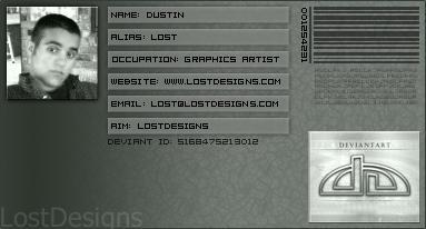 LostDesigns Deviant ID