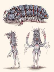 Aliens from Science Fiction: Oankali