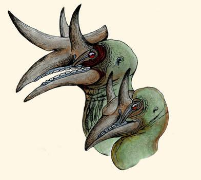 Hork-Bajir Head Concept