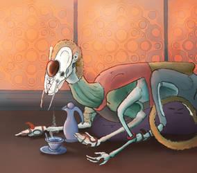 Resting Rattler