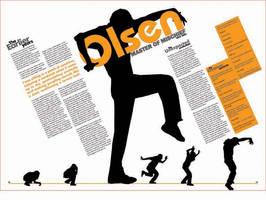 Olsen: Man of Mischief-Spread by CyrusViccaji