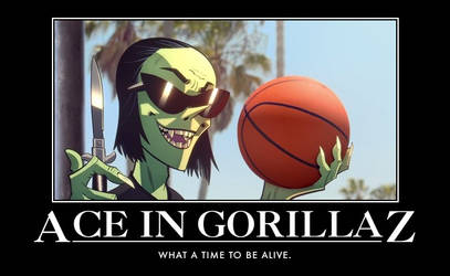 Ace in Gorillaz by UltraJohn567