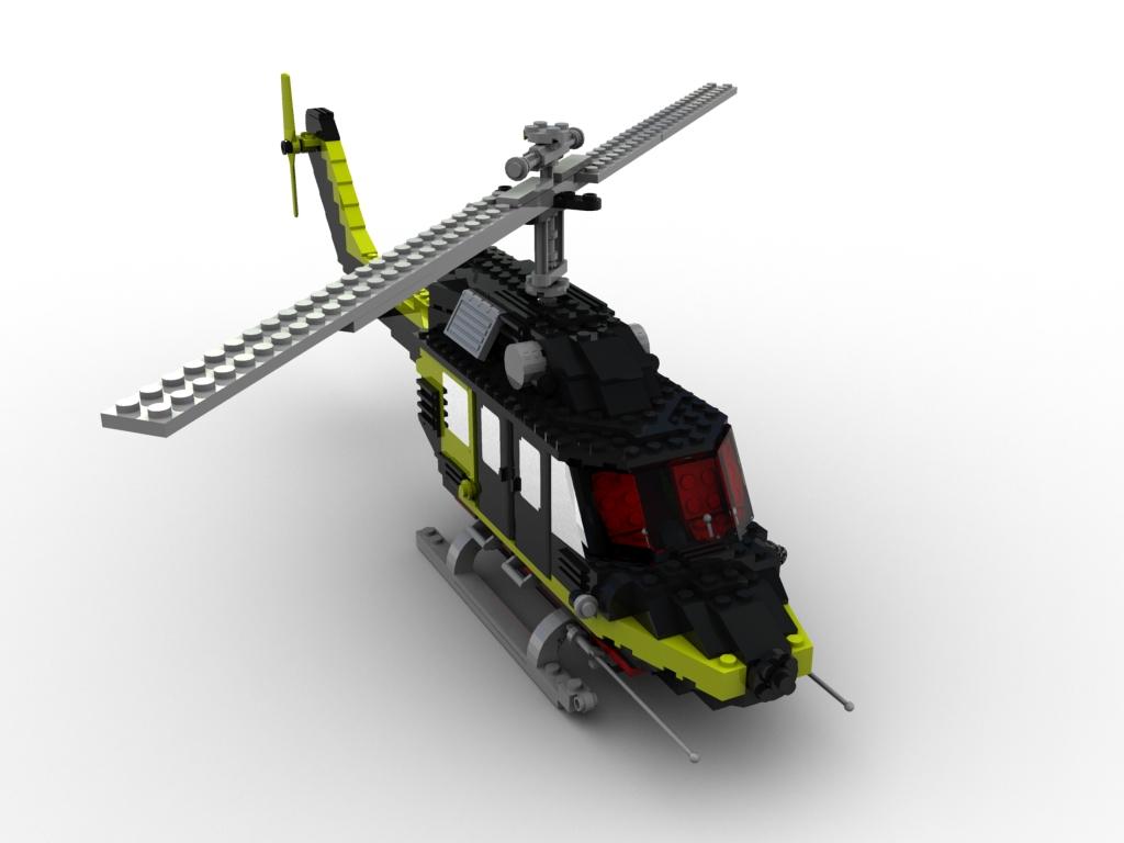 Lego Helicopter By Kikyu0 On Deviantart