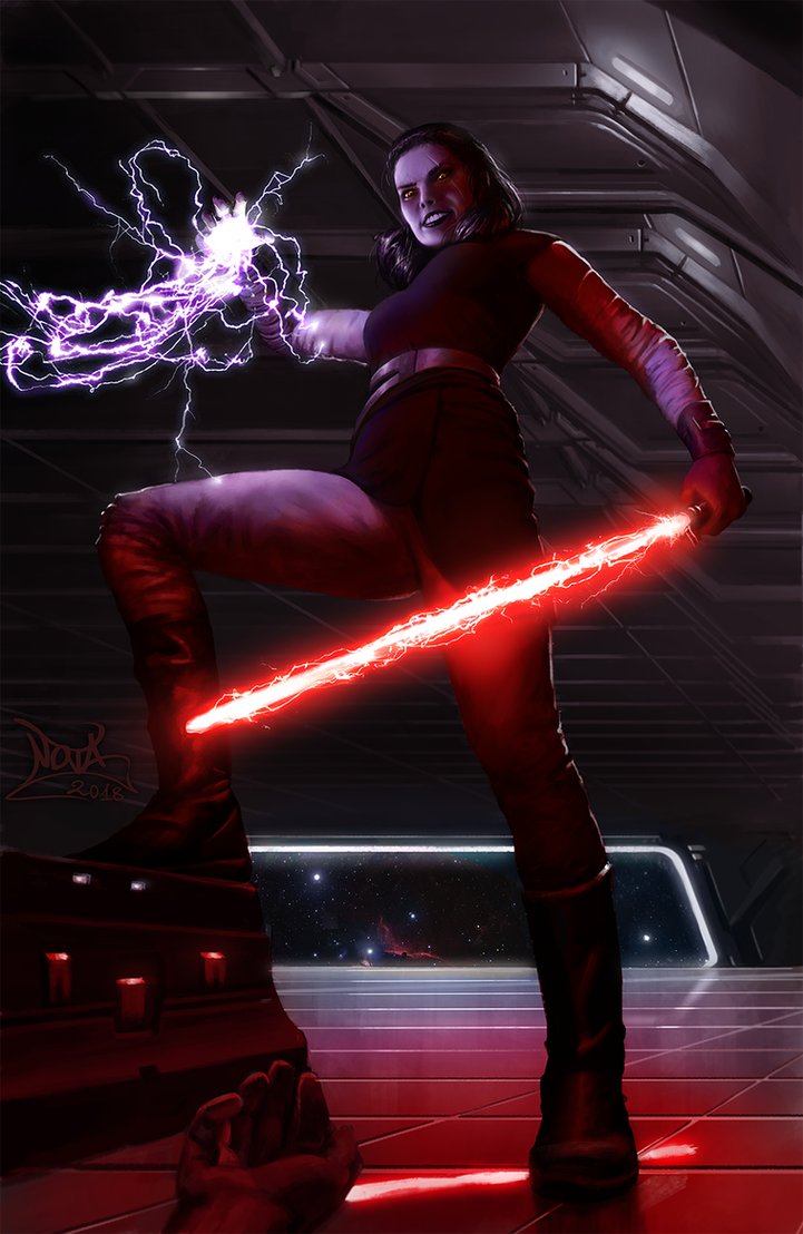 Dark Side Rey by Nova-sama420
