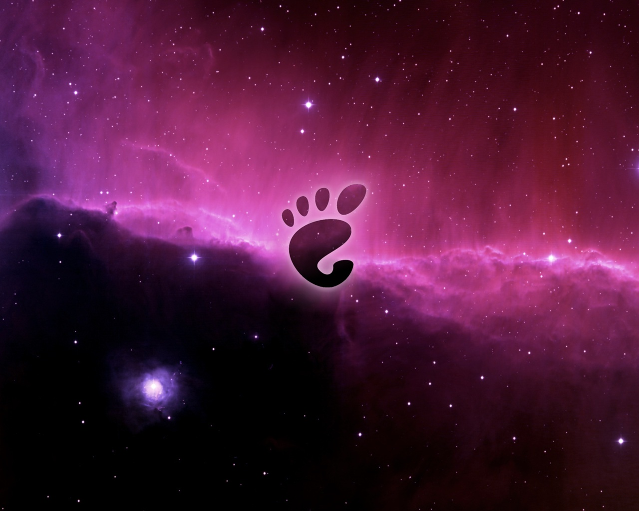 Gnome Linux Leopard by Side-1337