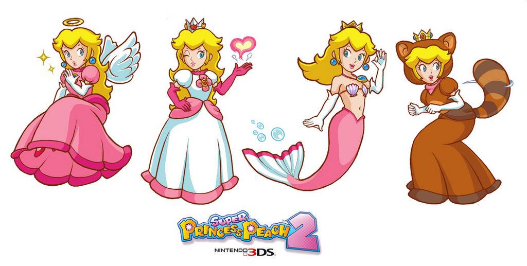 Super Princess Peach 2 Ideas by Peachy--pie