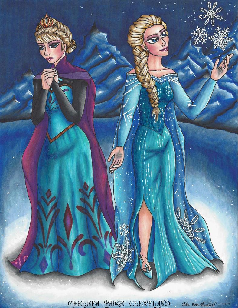 Elsa - Let it go by Chelsea-C