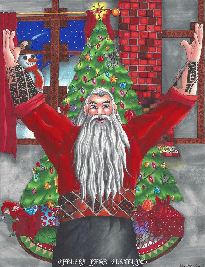 Nicholas St. North - Christmas by Chelsea-C