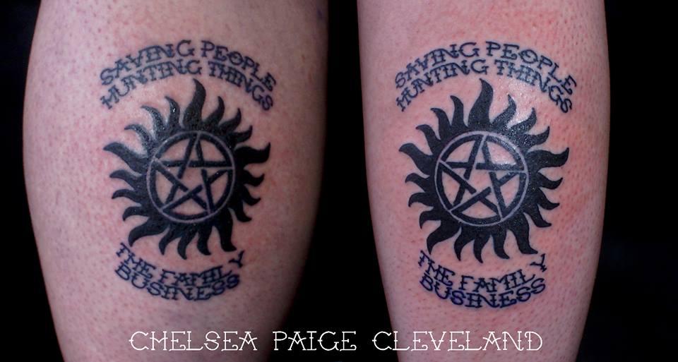 Tattoo Supernatural Anti Possession Symbol By Chelsea C On Deviantart