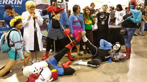 Undertale group - LVL UP Expo Cosplay