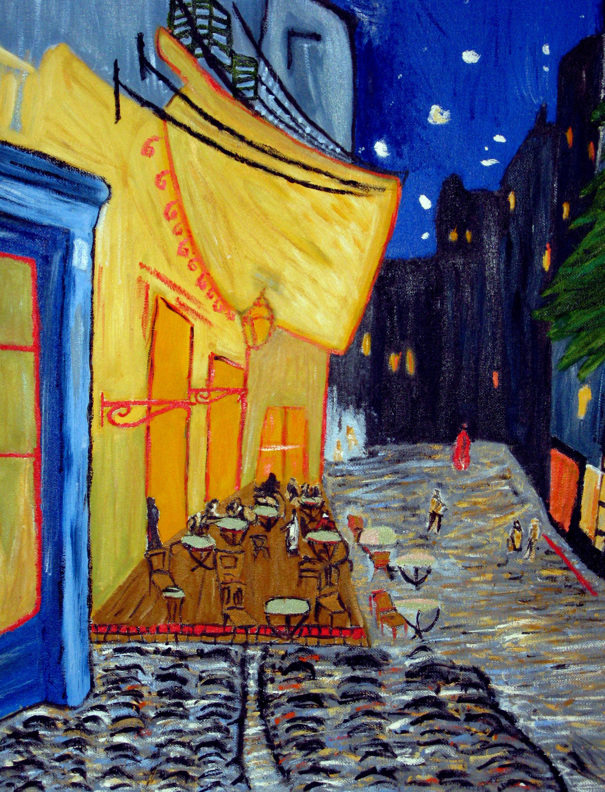 Vincent Van Gogh Cafe Terrace at Night Van Gogh 39 s Cafe 39 Terrace
