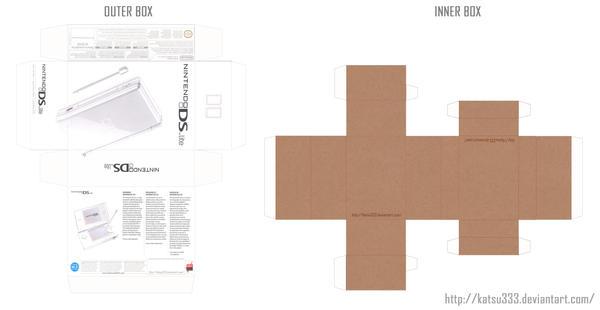Nintendo DS Box Patterns by katsu333