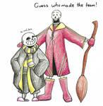 Papyrus Makes the Quidditch Team