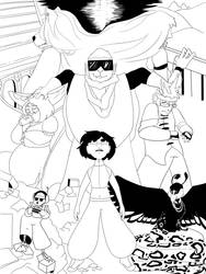 The Multiverse Shouldn't Care--WIP Cover Concept