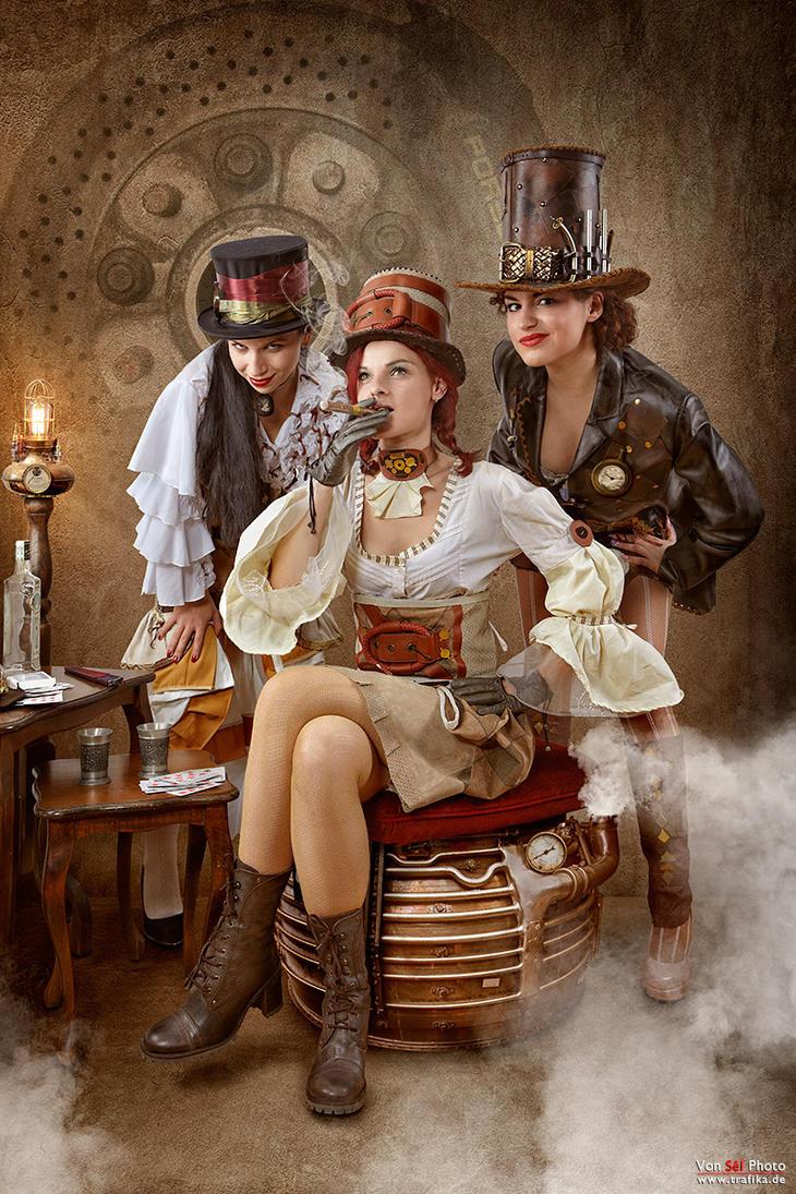 Steampunk Bandit Queen by von-sel