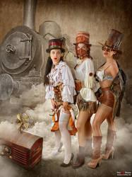 Steampunk Bandit Queen III by von-sel
