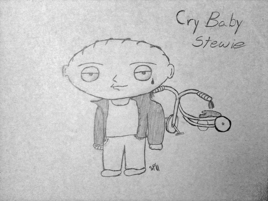 Cry Baby Stewie by tobiex12