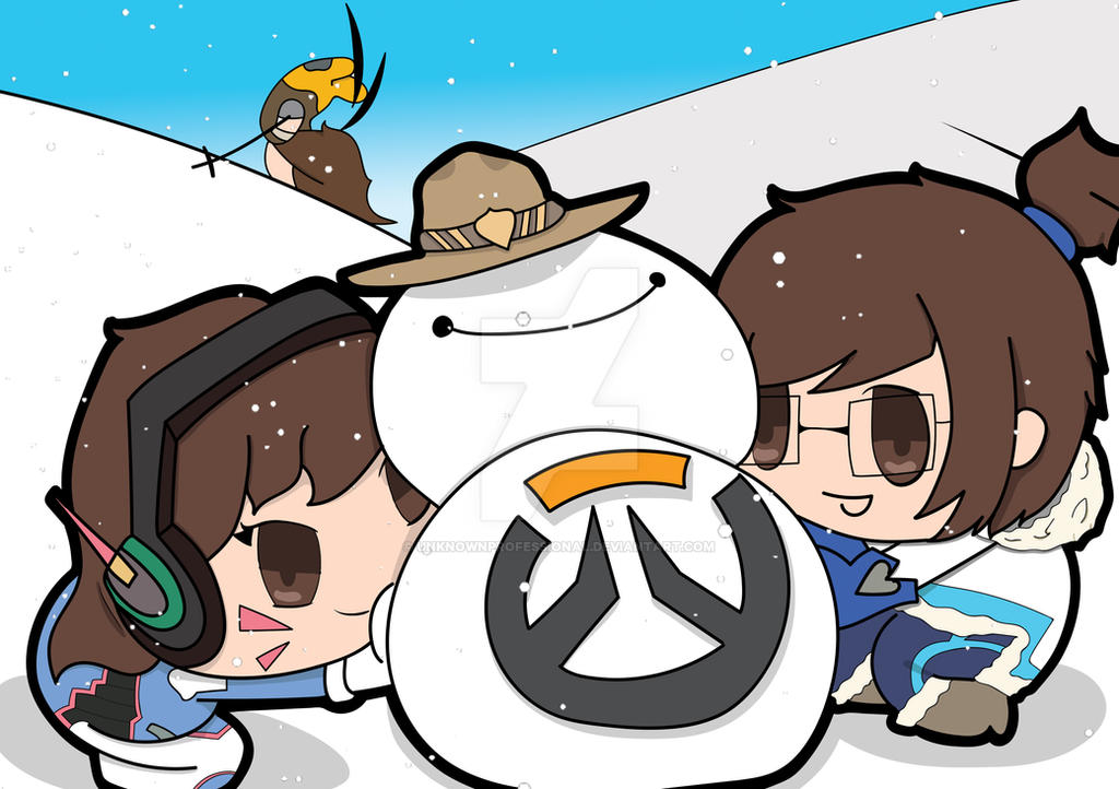 Overwatch christmas by unknownprofessional on deviantart - Overwatch christmas wallpaper ...