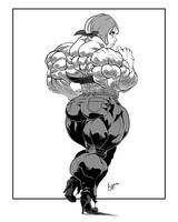 Ass of Steel by Lord-Eustache