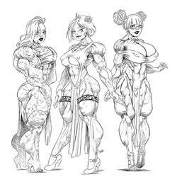Muscles in Dress