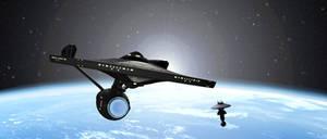 Enterprise departing