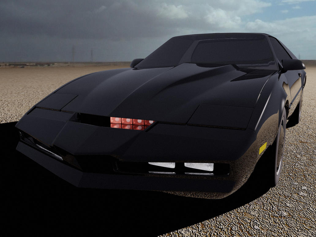 Knight rider 3d art sexy films