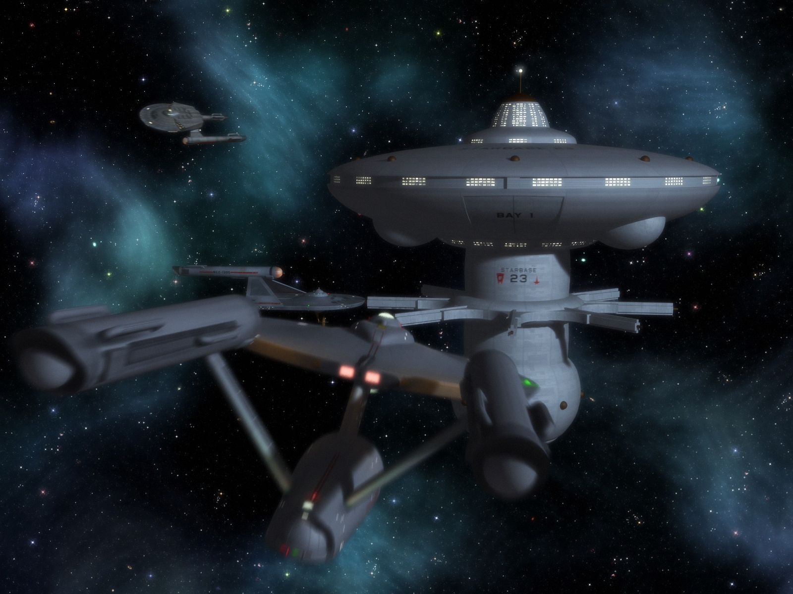 Starbase 23 by davemetlesits