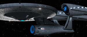 Enterprise sighting by davemetlesits