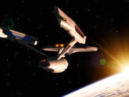 Flight over Khitomer by davemetlesits