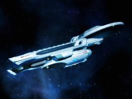 USS Churchill by davemetlesits
