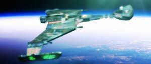 JJ Klingon Warbird by davemetlesits