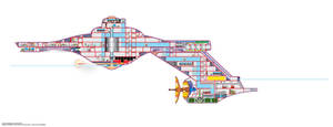 USS Polaris cutaway