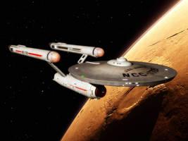 Starship Lexington by davemetlesits