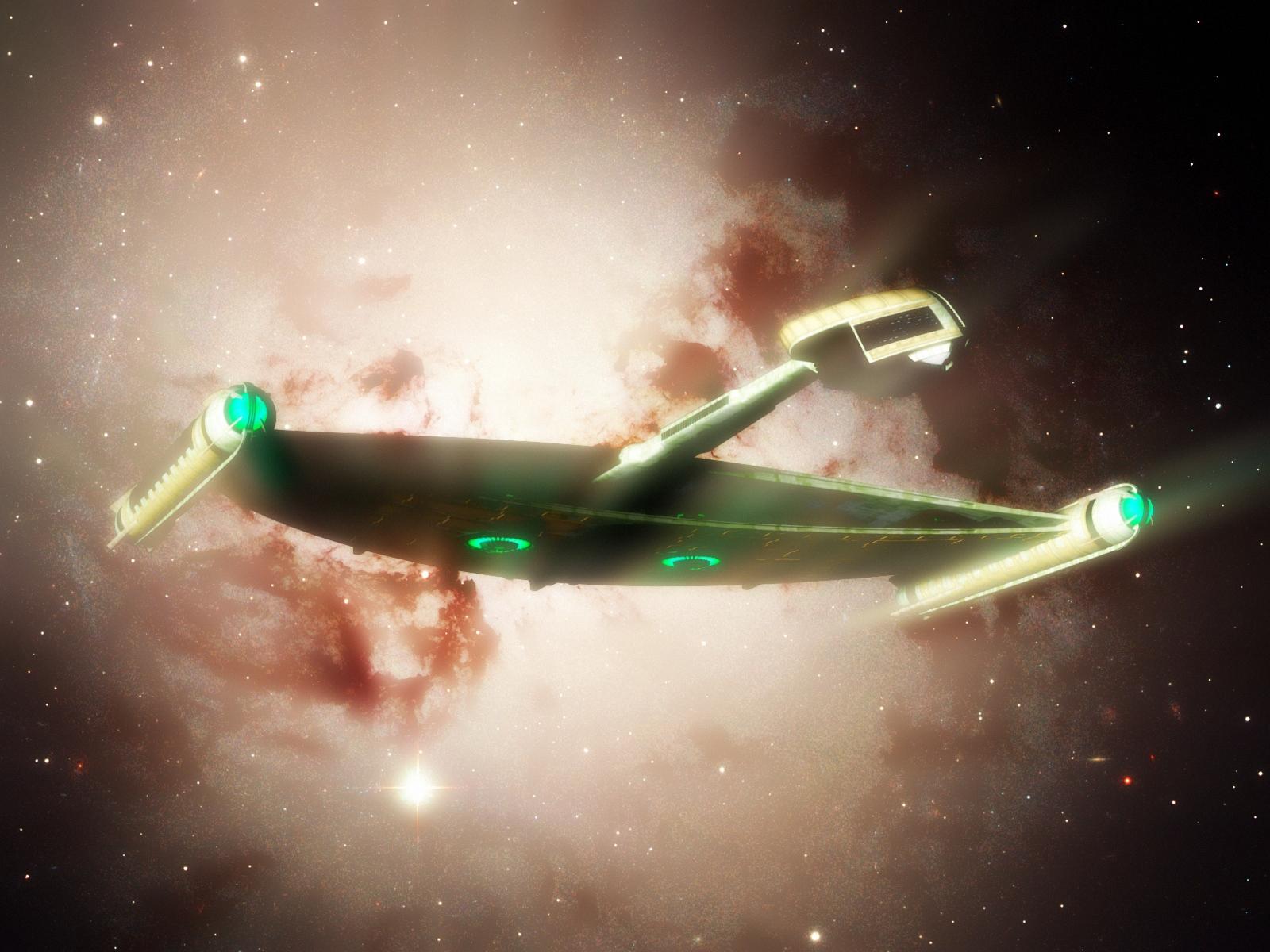 Madman's Romulan cruiser by davemetlesits