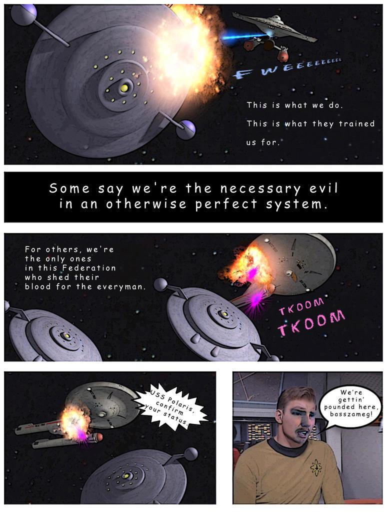 Polaris comic, pg 2 by davemetlesits
