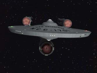ScifiEric's Enterprise by davemetlesits