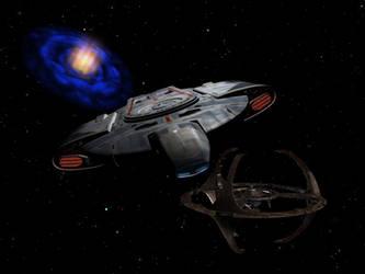 Deep Space Nine by davemetlesits