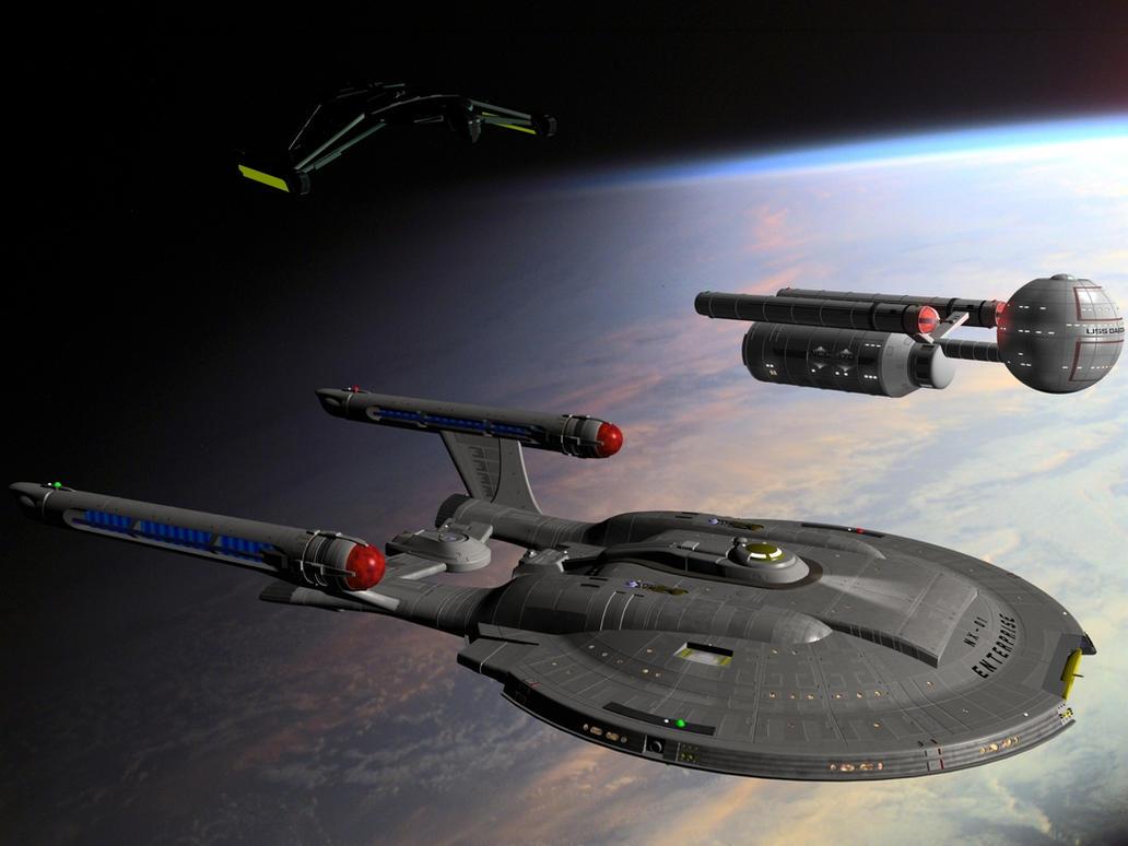 Star Trek - Pre-TOS era by davemetlesits