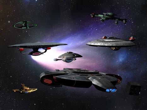 Star Trek - TNG era by davemetlesits