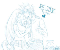 [BnHA] REJIRE - VDay thingy (sketch)