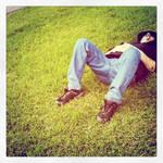 Sleeping in the sun - My Papa