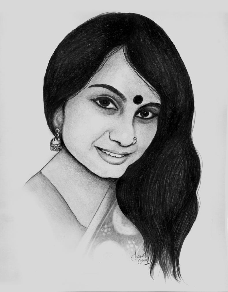 pencil drawing by charankumar105