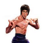 Bruce Lee's battle call