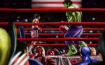 Rocky VS Hulk